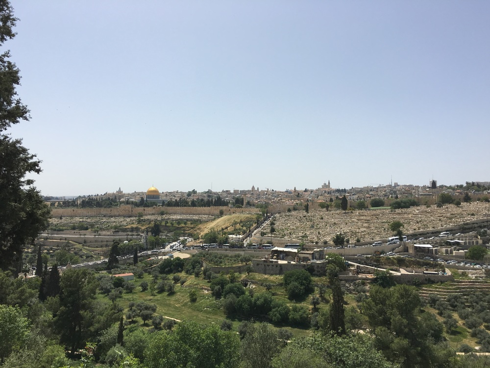 The view from BYU Jerusalem