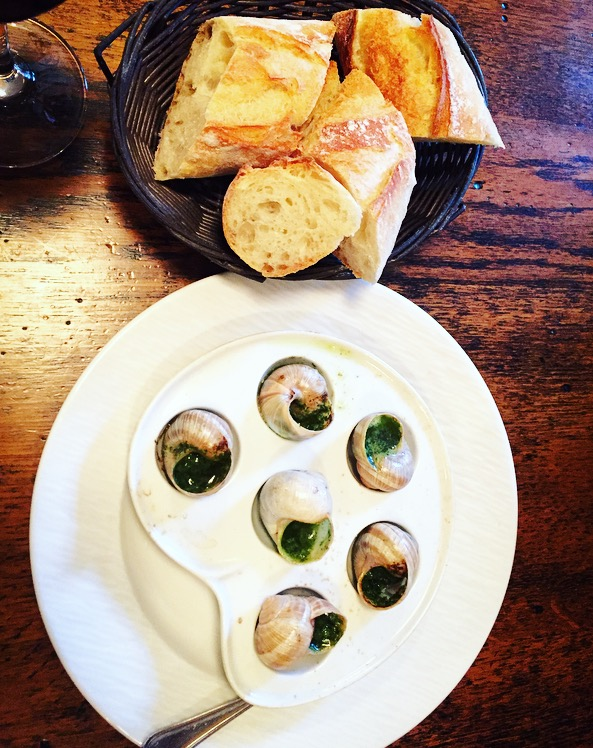 Very first Escargot!