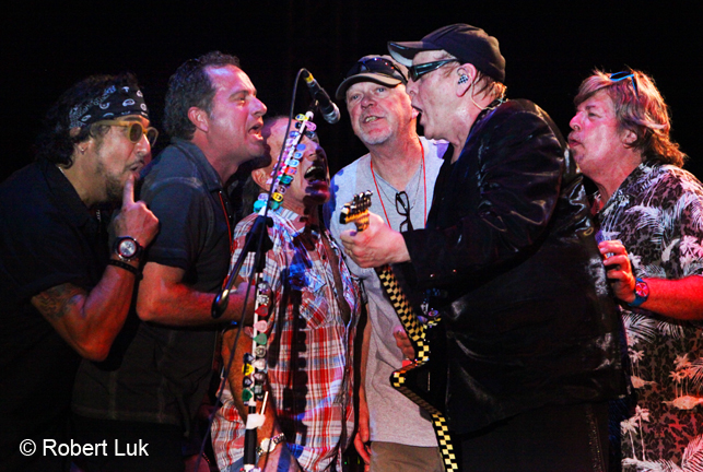 Teddy 'Zig Zag' Andreadis (GnR's), Gary (FF), Mark Farner (Grand Funk), Rusty Young (Poco), Rick Neilson (Cheap Trick), Jock Bartley (FF) PV MX 12-14-2014.JPG