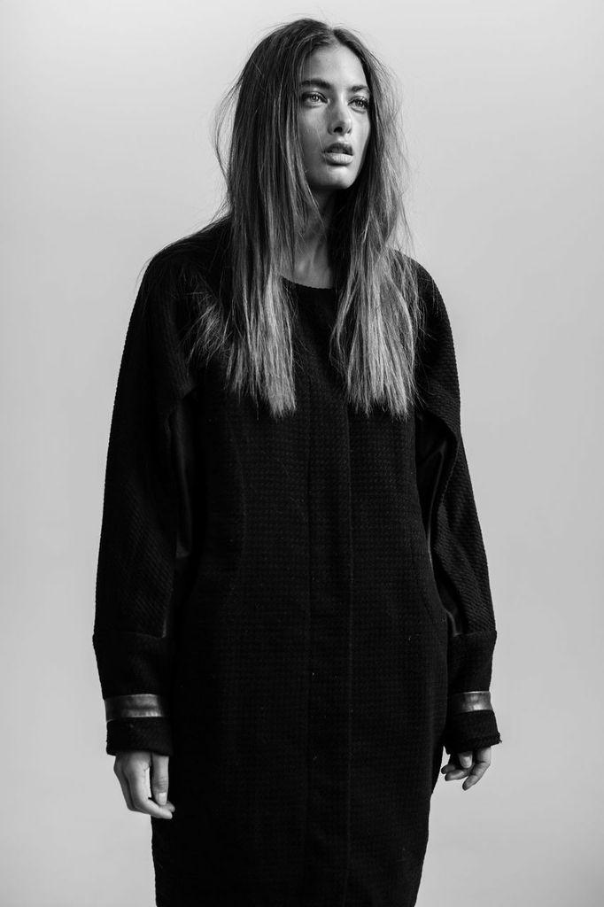 model SAMIRA MAHBOUB   photographer BONNIE NICHOALDS   mua MICHAEL NETTER / KYSHA MARIE   hair stylist CRE   styled by NIK