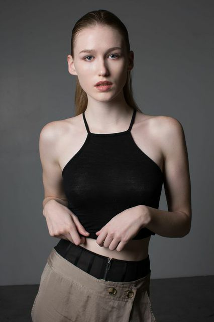 model BROOKE ABRAM   photographer BONNIE NICHOALDS   mua MICHAEL NETTER / KYSHA MARIE   hair stylist CRE   styled by NIK