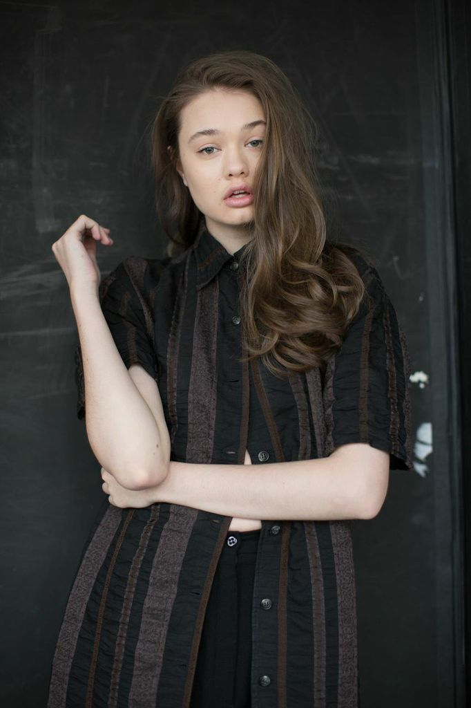 model SABINA PLESTILOVA   photographer BONNIE NICHOALDS   mua MICHAEL NETTER / KYSHA MARIE   hair stylist CRE   styled by NIK