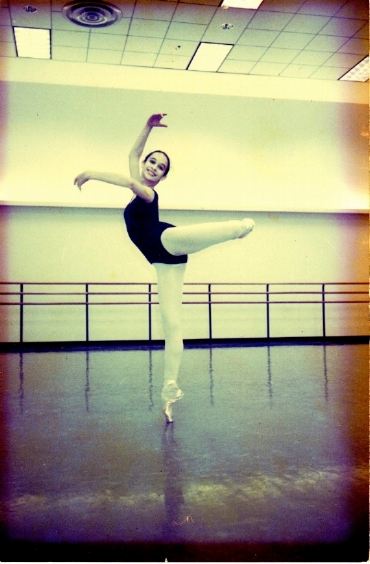 14-year-old Lucia Brawley at George Balanchine's School of American Ballet