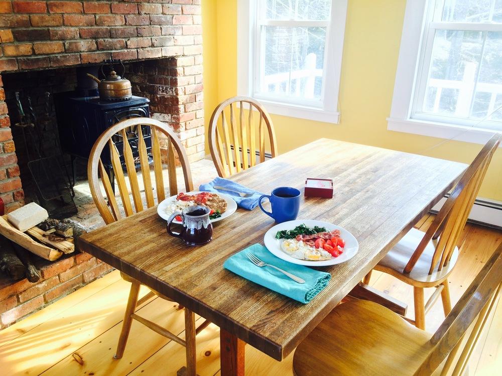 Maine Sunday Breakfast