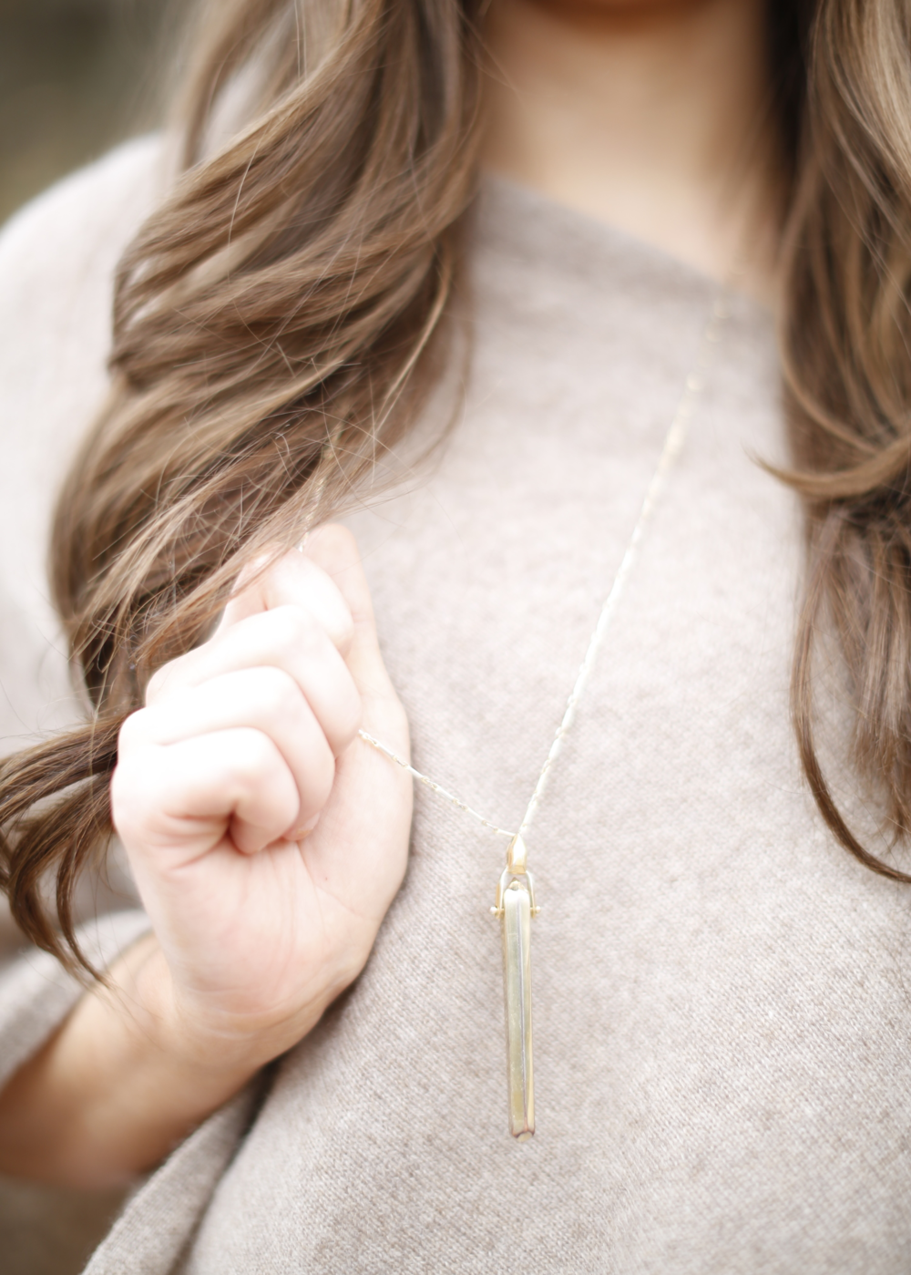 I wear this Stella and Dot Rebel Pendant necklace ALL the time!!! Seriously it goes with anything!!