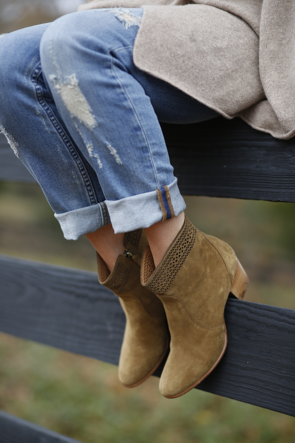 Favorite booties of all time!! Comfy and Chic! You can't beat that!