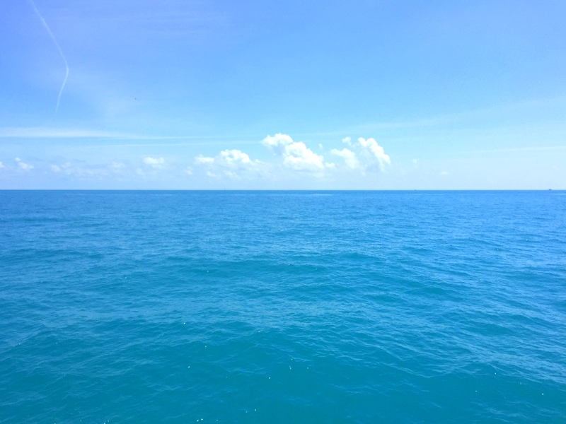 No, I did not edit this picture, the water really is that blue and beautiful!!!