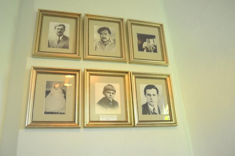 Hemingway through the years.