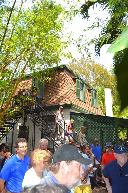 Hemingway's Studio!!