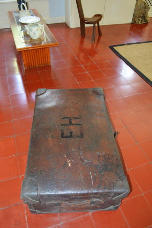 Hemingway's trunk from World War 1.