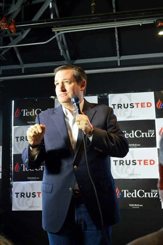 Presenting the man I am proudly endorsing for President of The United States...Senator Ted Cruz!!