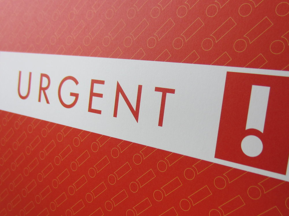 Urgent Action Folder