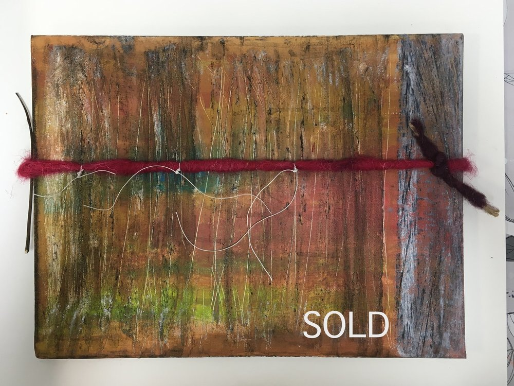 Heft - mixed media (sold)
