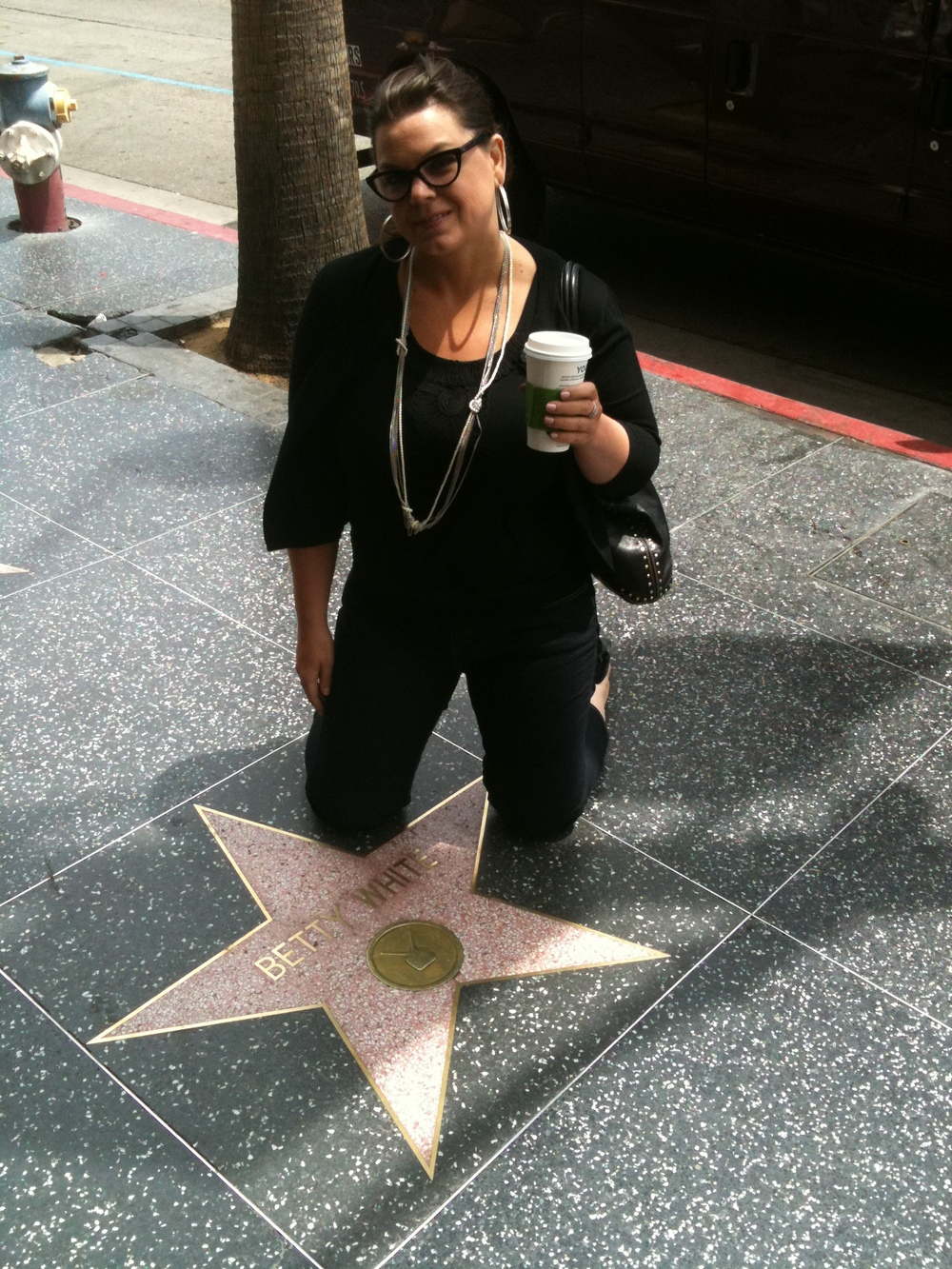 THE ONLY STAR I POSE BY......