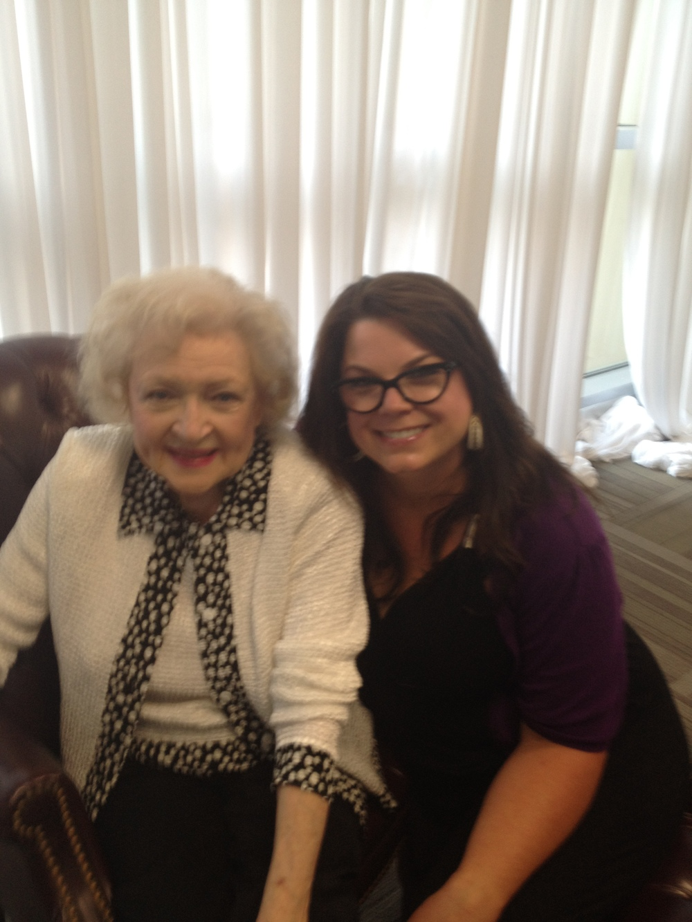 ME AND THE ICONIC BETTY WHITE