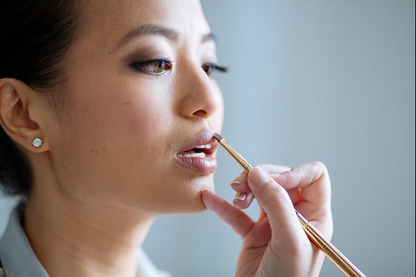 hiring a makeup artist for wedding