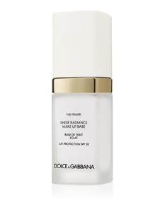 Dolce & Gabbana The Primer Sheer Radiance Makeup Base with Sunscreen/SPF 30/1 oz.