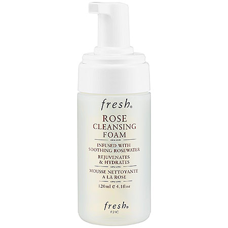 "FRESH ROSE CLEANSING FOAM IS A ""HYBRID"" OF a CLEANSING OIL"