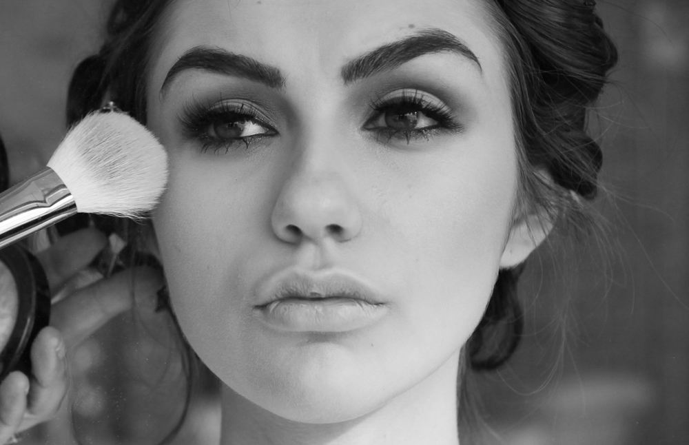 Makeup By Sonia Roselli. Photo By Korena Robinson. Model Katie Jens from Agency Galatea.