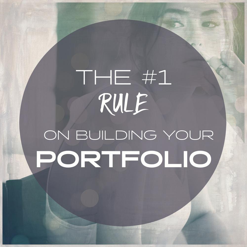 how to build a makeup portfolio
