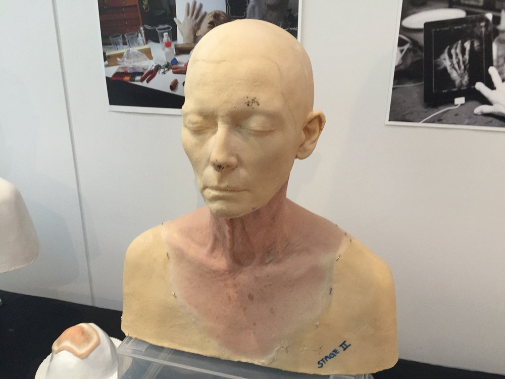Tilda Swinton mold cast....