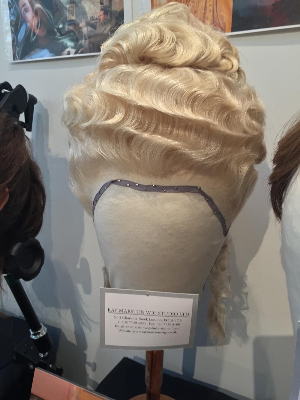 Madame D's wig.....