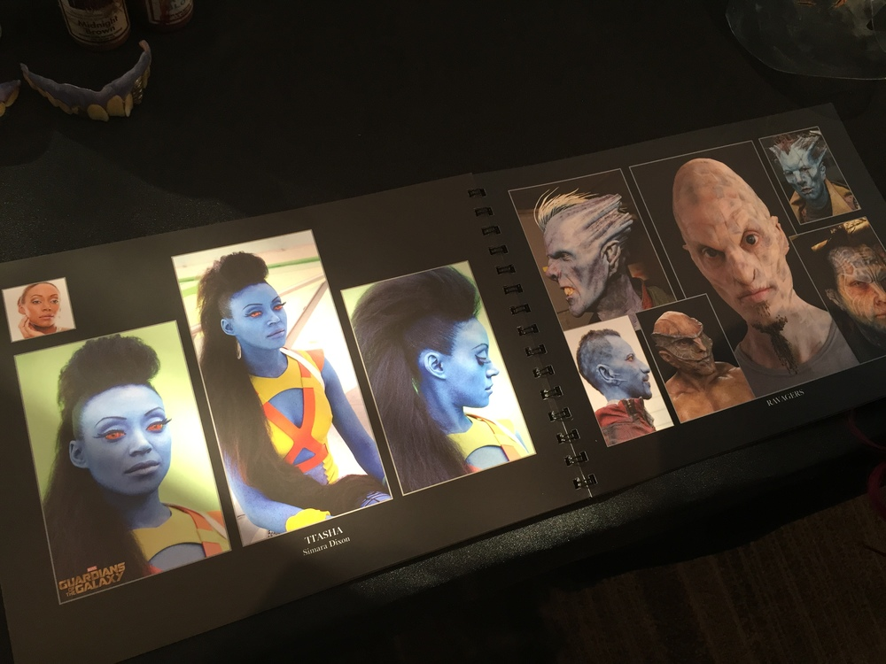 Guardians of the Galaxy characters.....truly labor intensive....