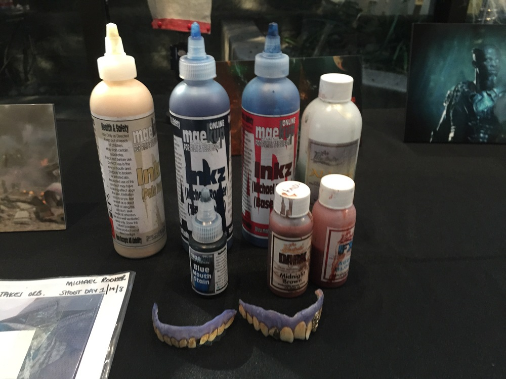 Makeup products used on Guardians of the Galaxy