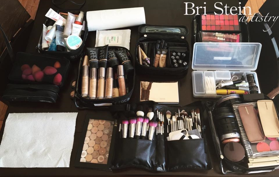 Makeup Kit of Bri Stein. She has all the pretties!