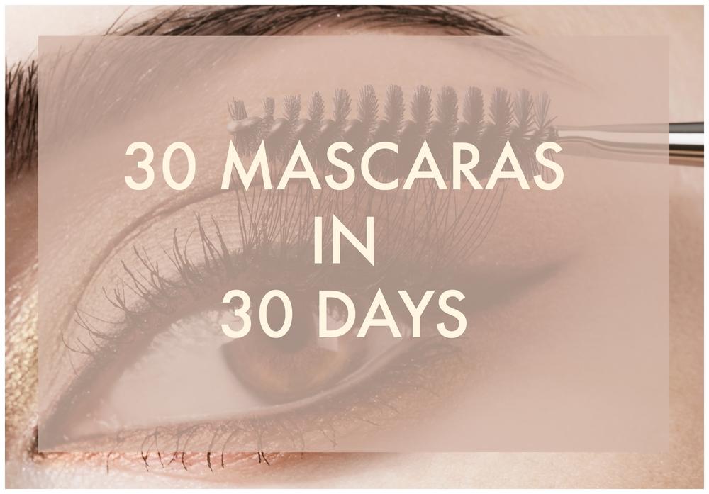 30 mascaras 30 days