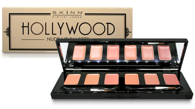 Hollywood Nude Lip Palette