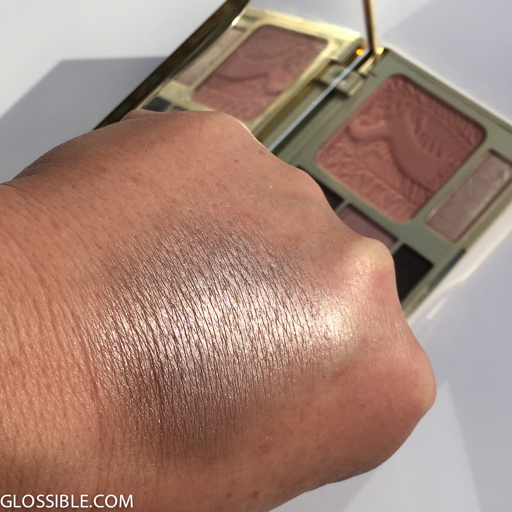 Apply more densely and you will see all the fine lines and imperfections...