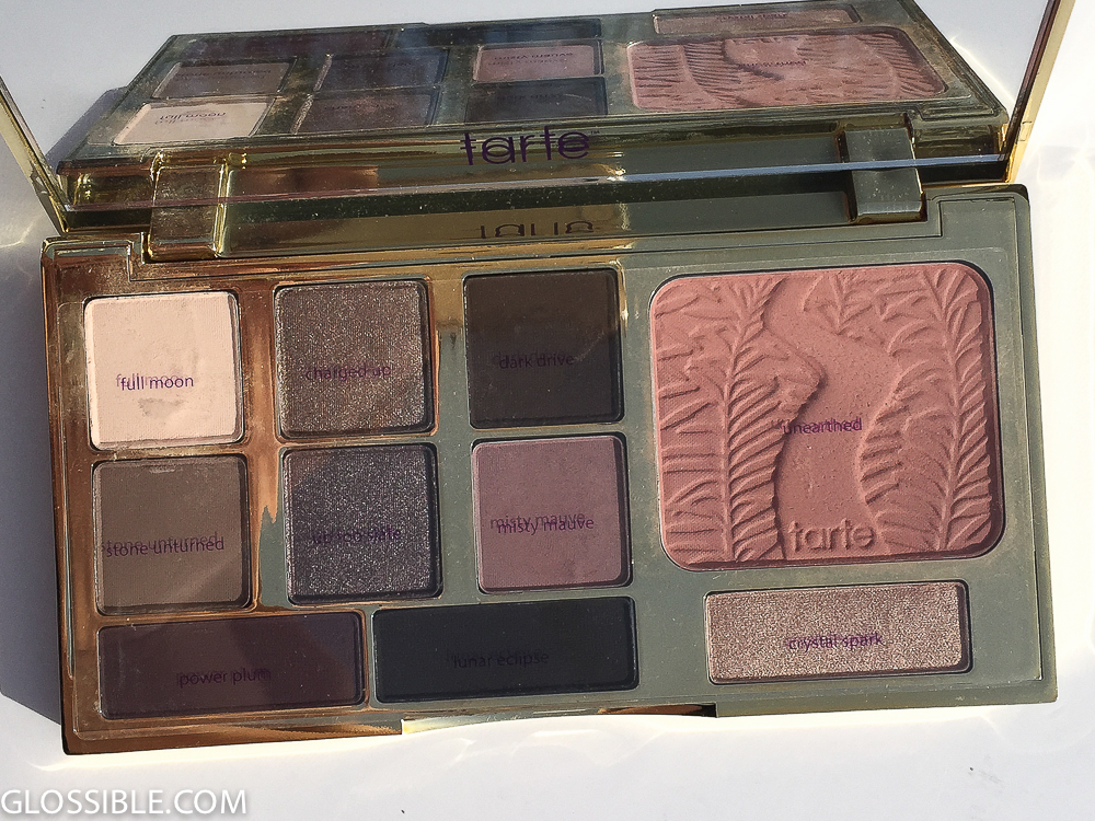 Tarte Eyeshadow Review
