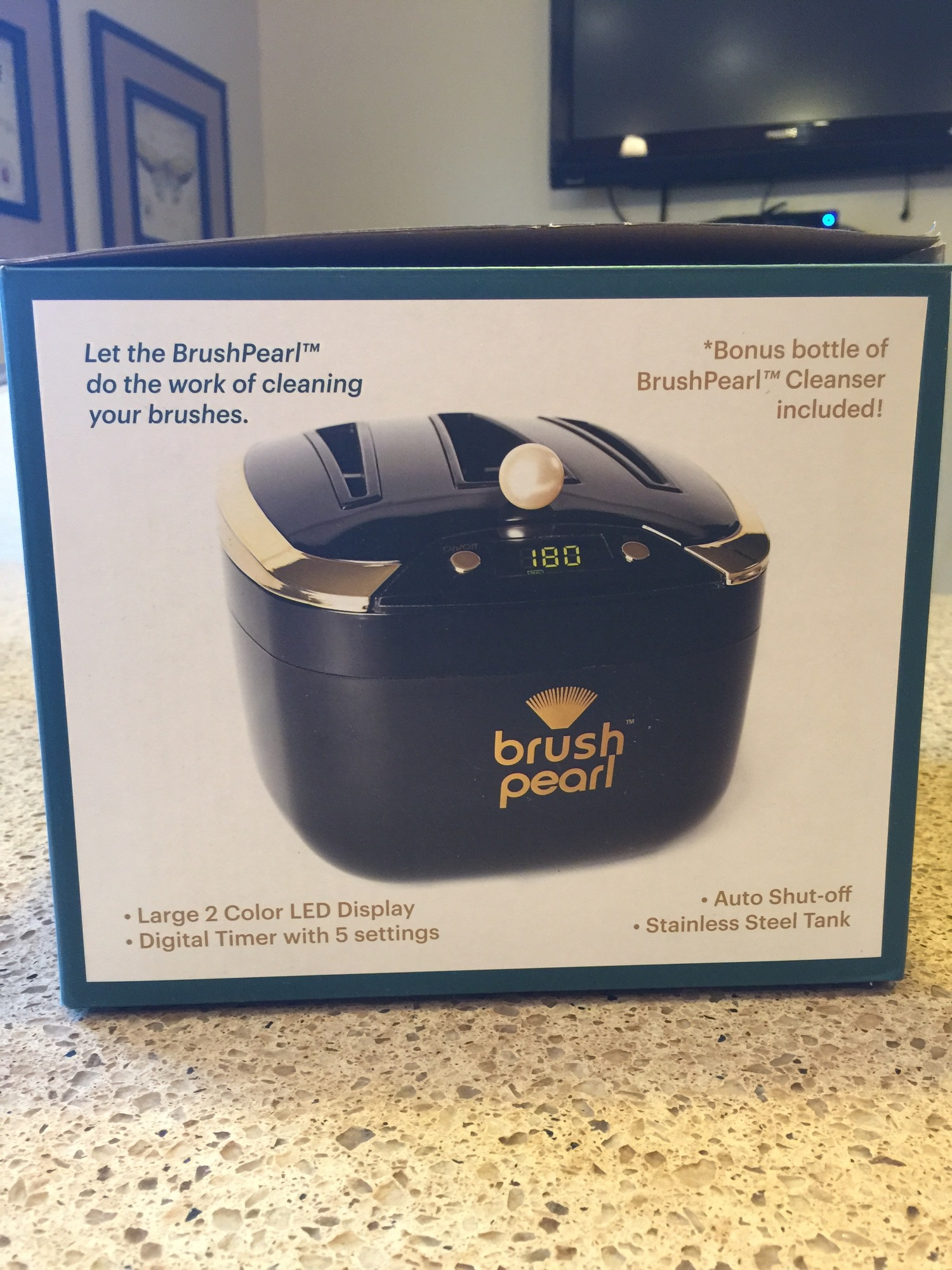 Brush Pearl Ultrasonic Brush Cleaner Review