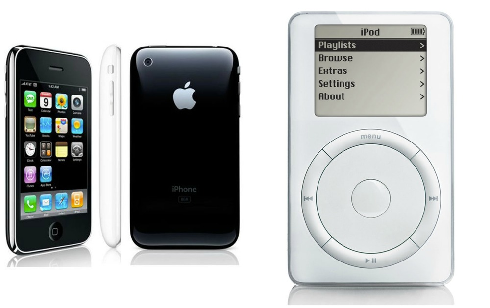 First generation iPhone and iPod...