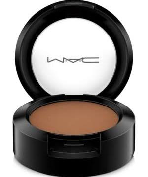 MAC matte eyeshadow in Saddle (crease)