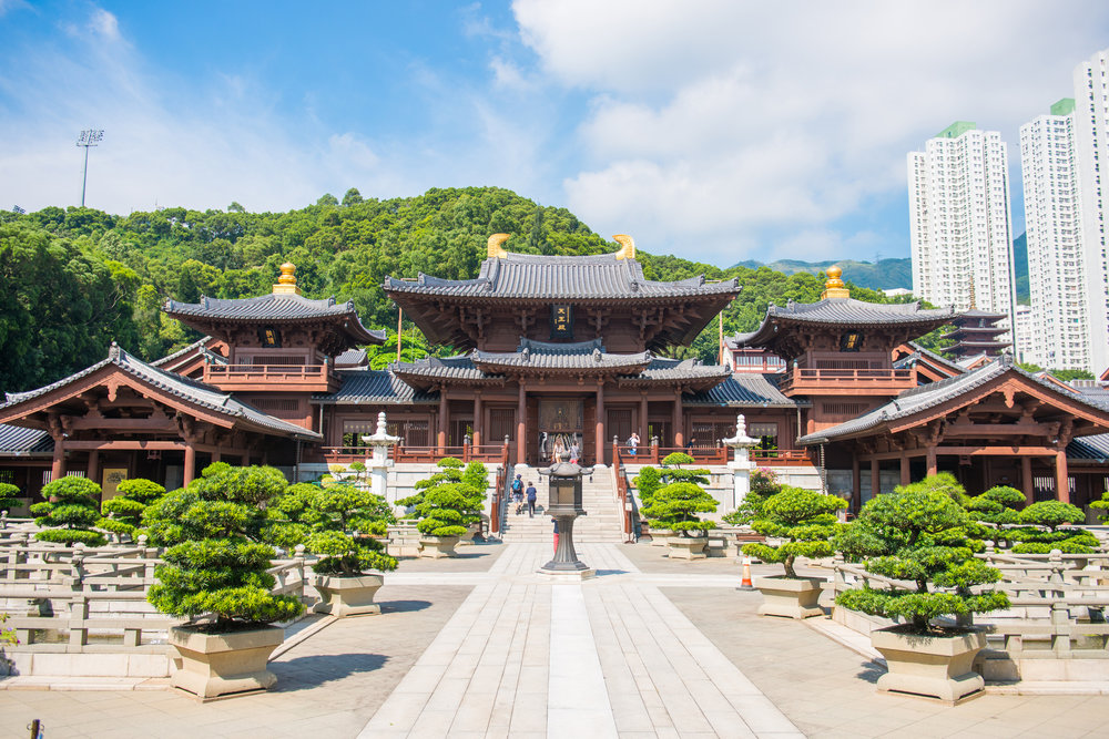 Chi Lin Nunnery, beautiful and peaceful place in Hong Kong.