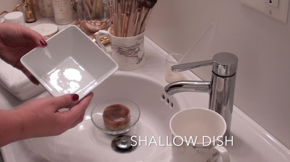 2. Shallow bowl or dish