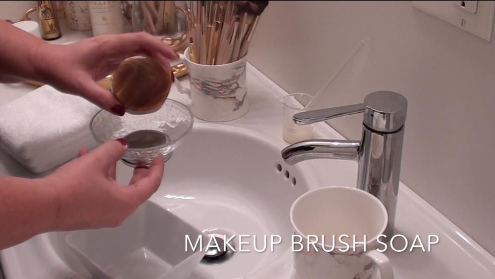 3. Makeup Brush Soap