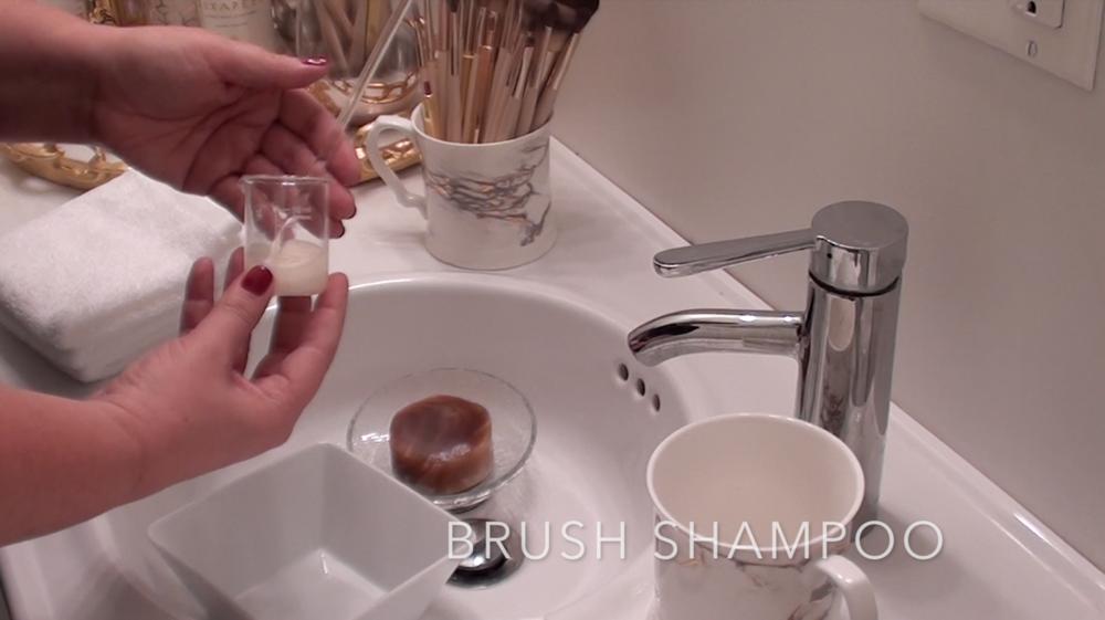 4. Makeup Brush Shampoo
