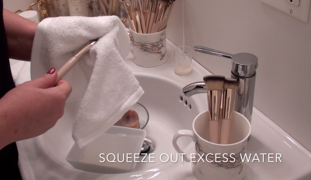 10. If needed, squeeze out excess water.