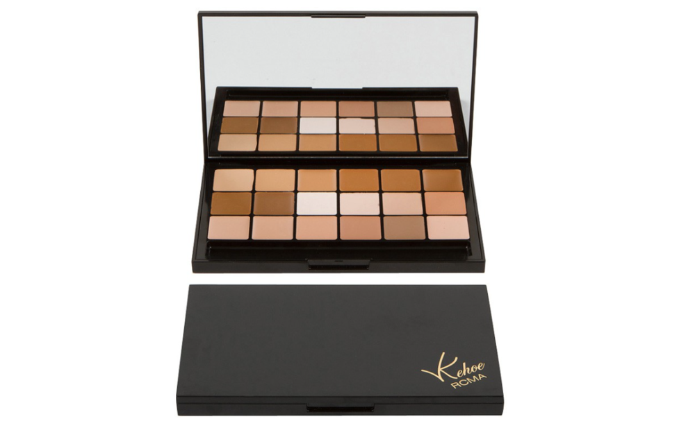 Be ready for anything with this easy to carry foundation palette from RCMA.