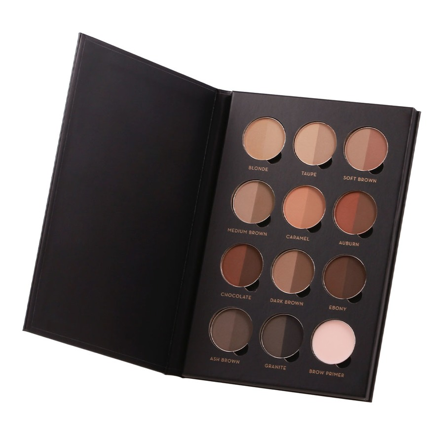 ABH's Pro Brow Palette is easy to carry in your kit.