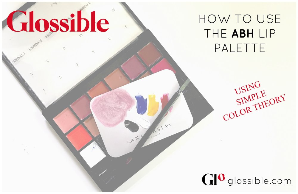 HOW TO USE THE ABH LIP PALETTE PRIMARY COLORS