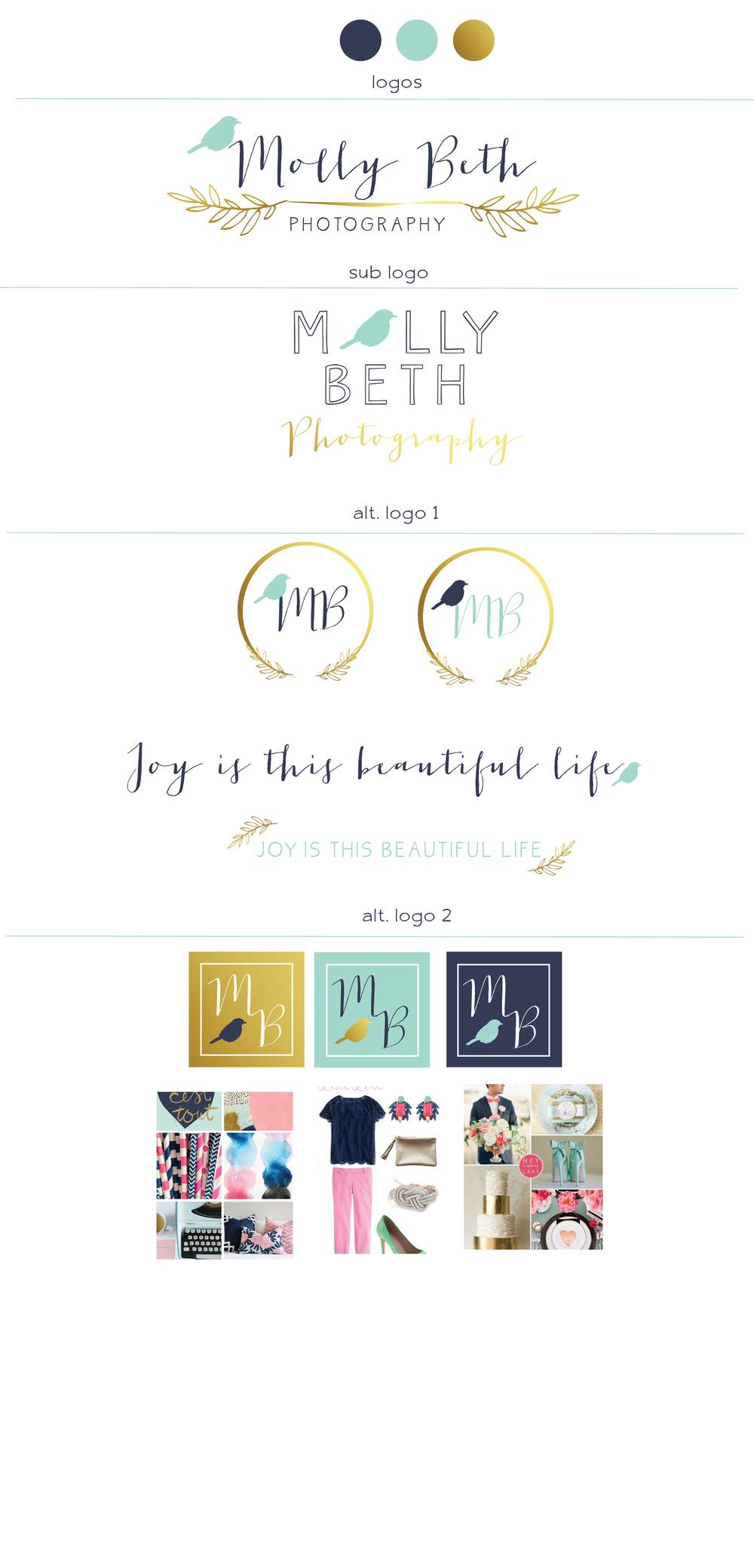 little h creative branding :  molly beth photography