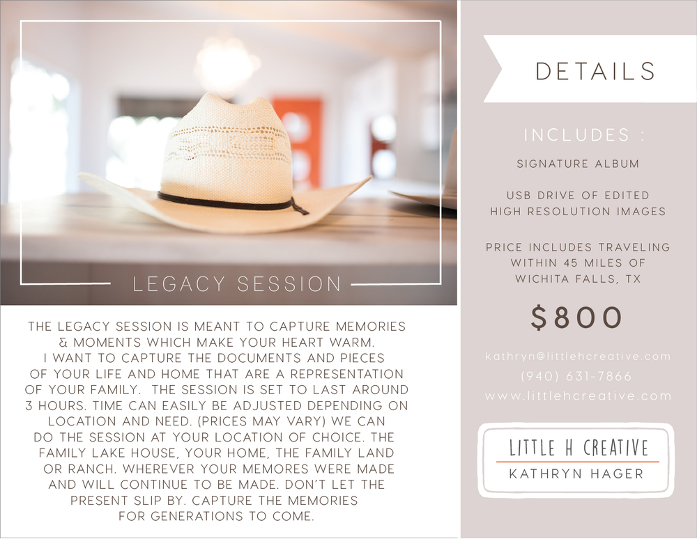 legacy session - little h creative