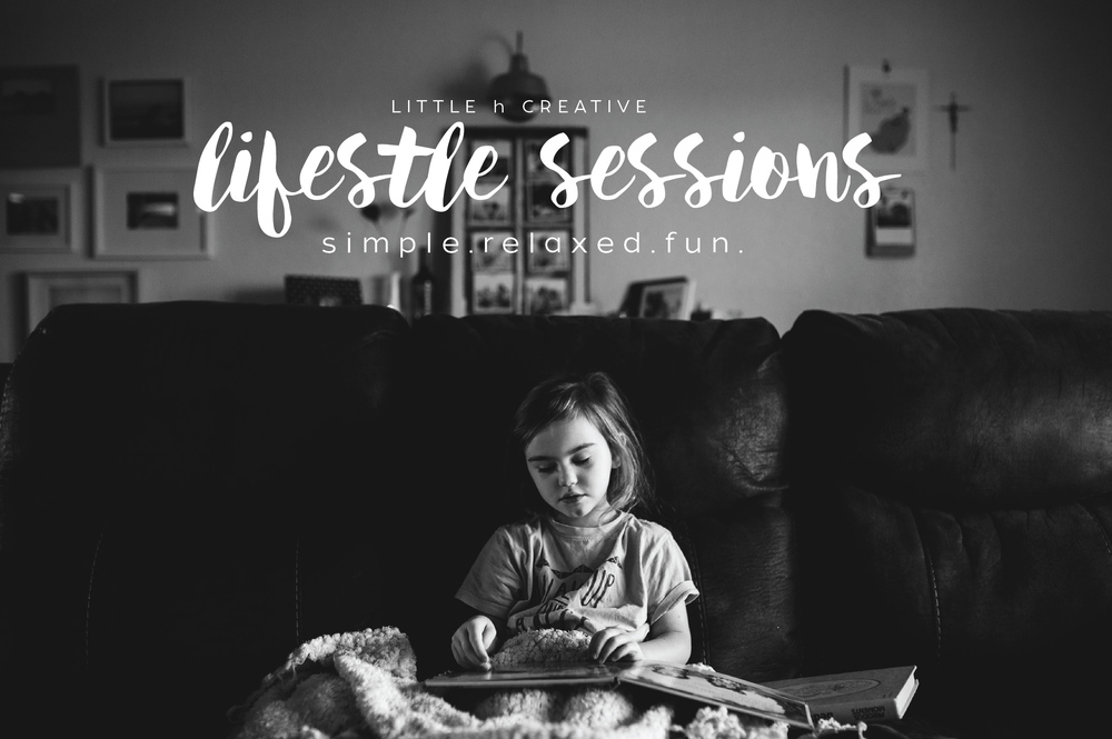 lifestyle sessions // little h creative