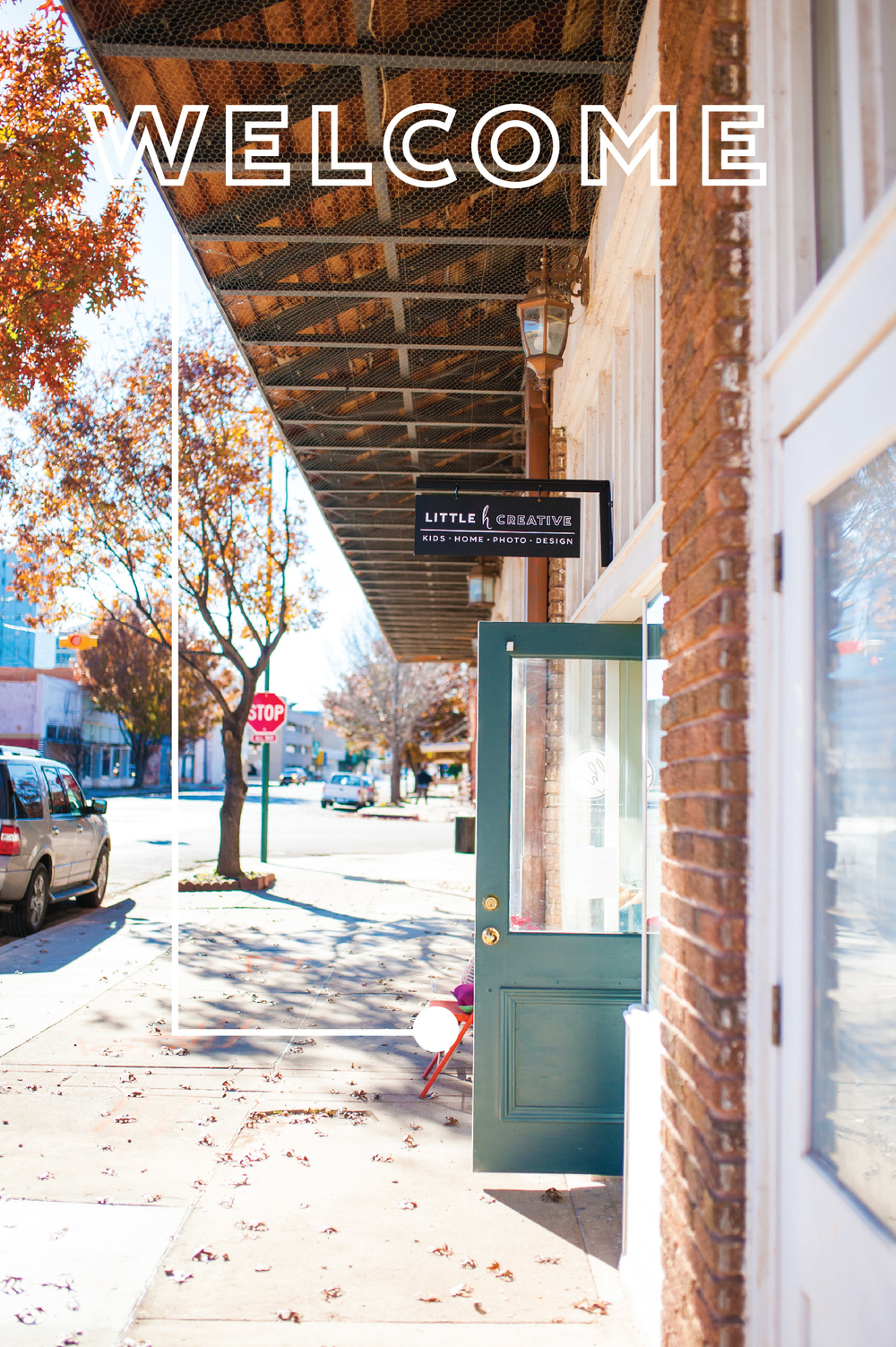 NEW STORE // STORE SPACE // DOWNTOWN // WICHITA FALLS // TEXAS // LITTLE H CREATIVE