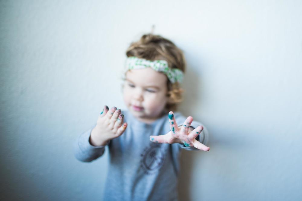 little h creative // week 4 // hands