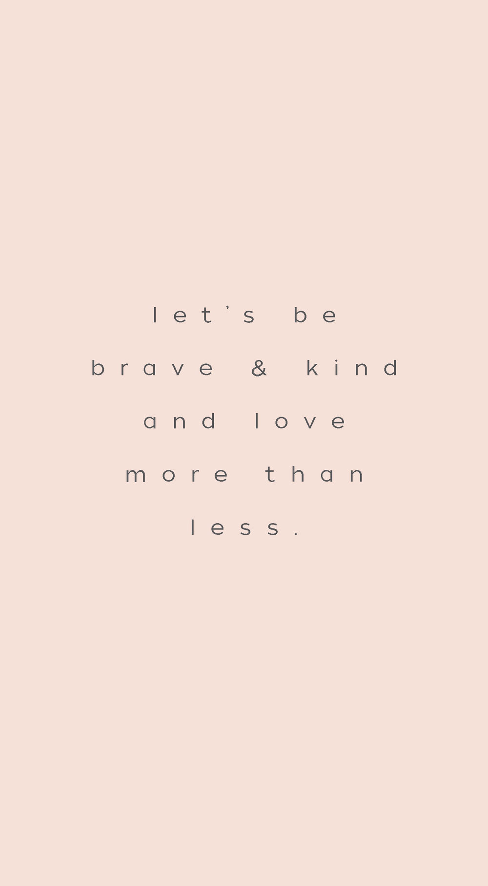 inspiration // be brave // little h creative